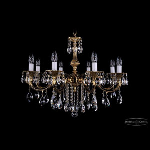 Хрустальная подвесная люстра IVELE Bohemia Crystal (Чехия) 1702.8.B
