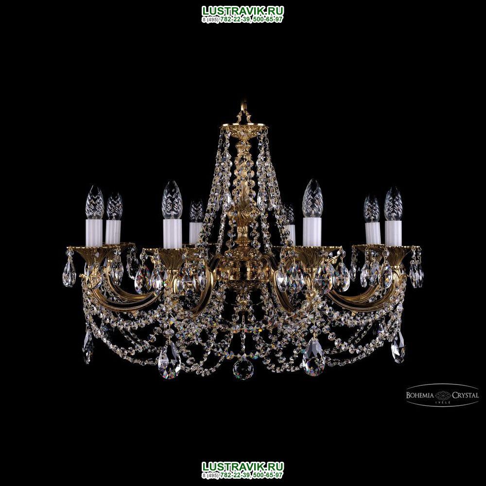 Хрустальная подвесная люстра IVELE Bohemia Crystal (Чехия) 1702.8.C