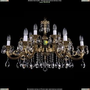 1703/14/A/G Подвесная люстра Bohemia Ivele Crystal (Богемия)