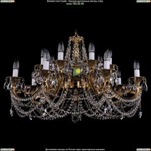 1703/14/C/G Подвесная люстра Bohemia Ivele Crystal (Богемия)