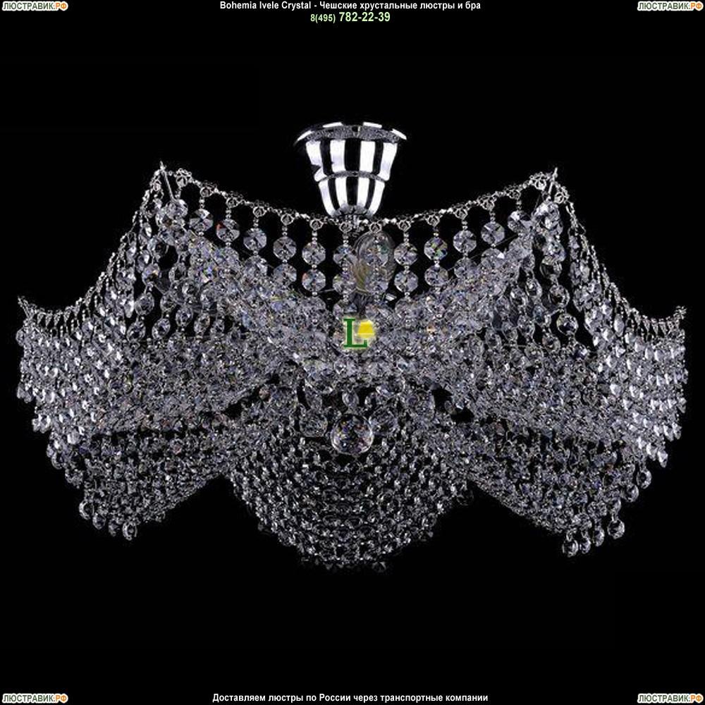 7708/6/Ni Хрустальная потолочная люстра Bohemia Ivele Crystal (Богемия)