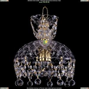 7711/22/G/Balls Хрустальная подвесная люстра Bohemia Ivele Crystal (Богемия)