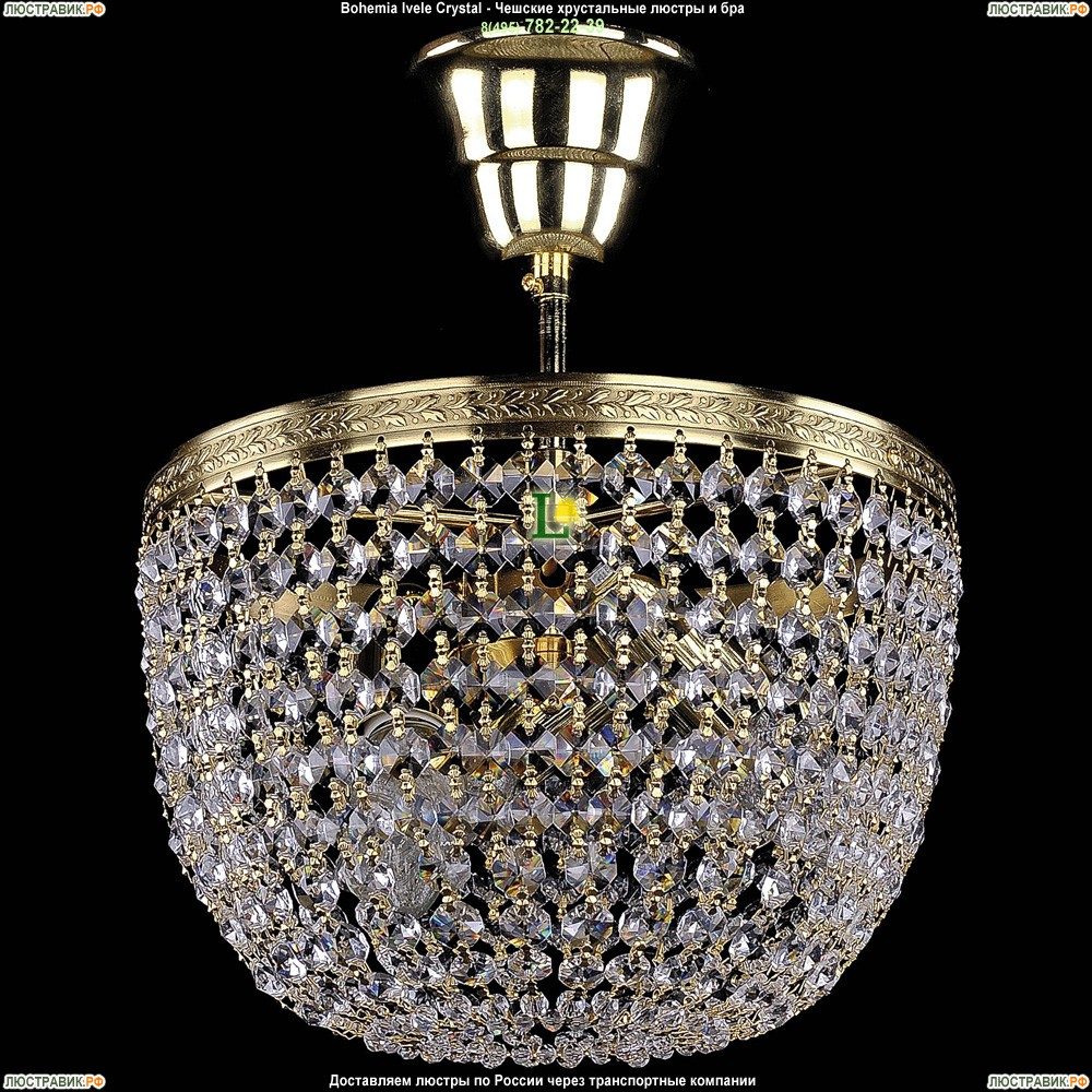 1920/25/O/G Хрустальная потолочная люстра Bohemia Ivele Crystal (Богемия)