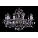 1402/10/195/FP Хрустальная подвесная люстра Bohemia Ivele Crystal (Богемия)
