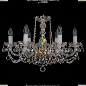 1402/6/195/G/Balls Хрустальная подвесная люстра Bohemia Ivele Crystal (Богемия)