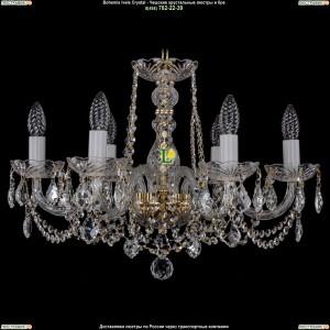 1402/6/195/G/Leafs Хрустальная подвесная люстра Bohemia Ivele Crystal (Богемия)