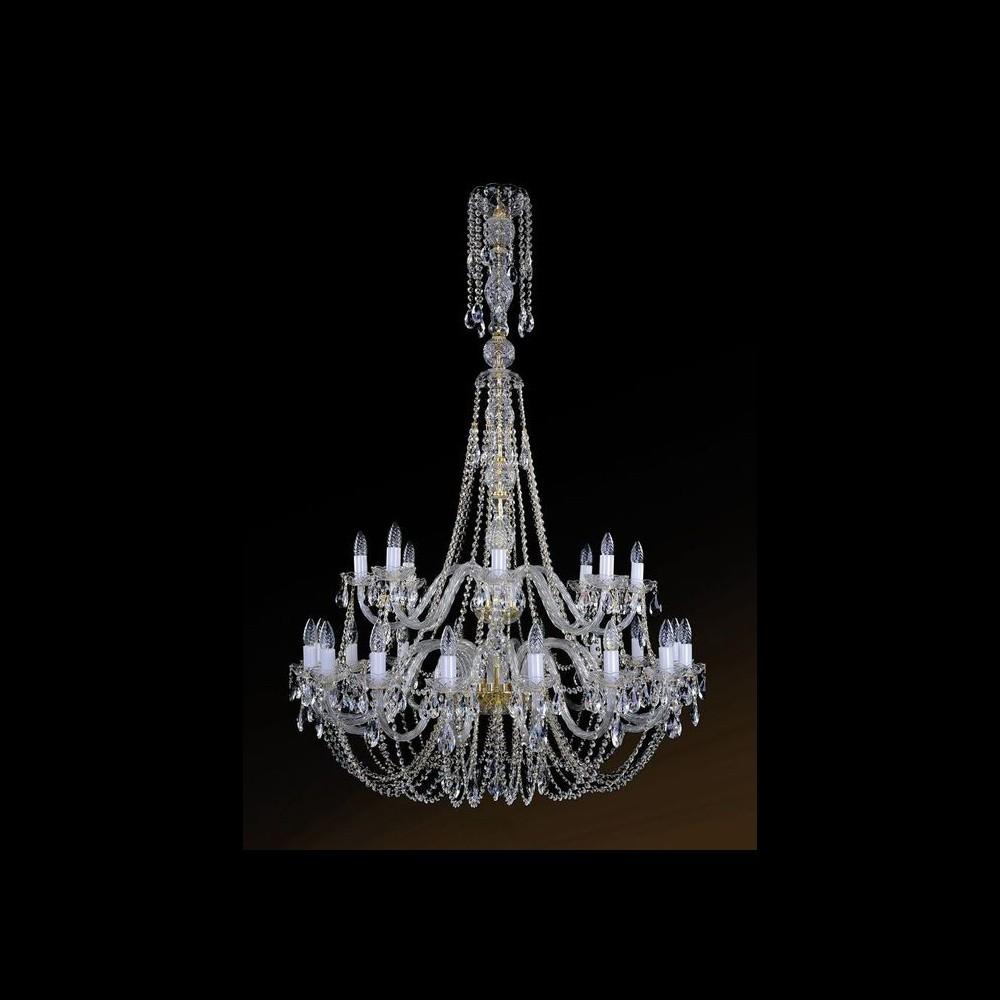1406.16+8.400BIG  IVELE Bohemia Crystal хрустальная подвесная люстра