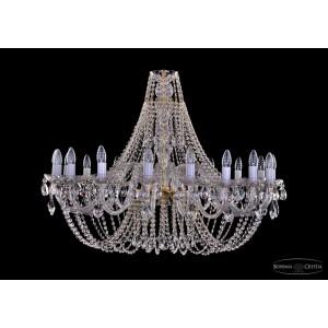 1406.18.400  IVELE Bohemia Crystal хрустальная подвесная люстра