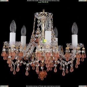 1410/5/141/G/7010 Хрустальная подвесная люстра Bohemia Ivele Crystal (Богемия)