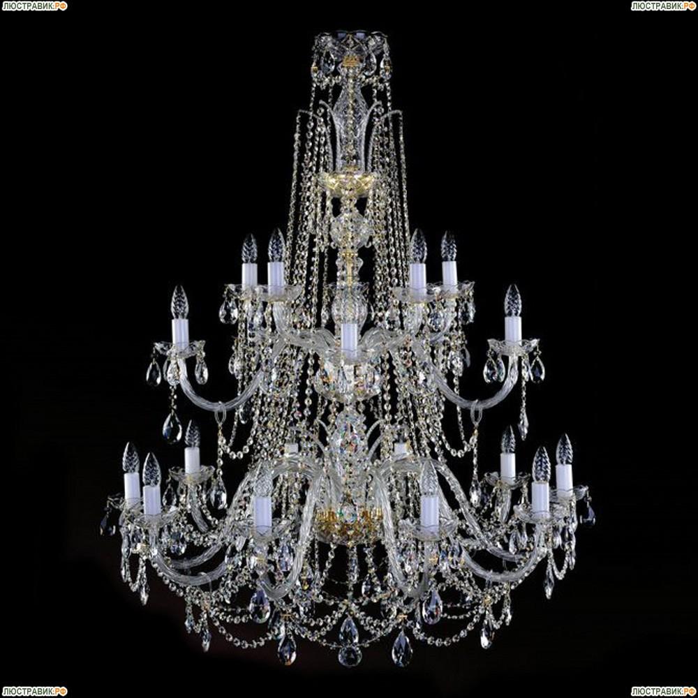 1411.10+5+5.400  IVELE Bohemia Crystal хрустальная подвесная люстра