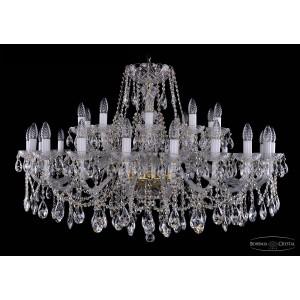 1413.16+8.400  IVELE Bohemia Crystal хрустальная подвесная люстра