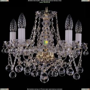 1413/5/141/G/Balls Хрустальная подвесная люстра Bohemia Ivele Crystal (Богемия)