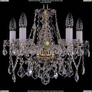 1413/5/141/G/Leafs Хрустальная подвесная люстра Bohemia Ivele Crystal (Богемия)