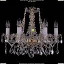 1413/6/165/G/Leafs Хрустальная подвесная люстра Bohemia Ivele Crystal (Богемия)