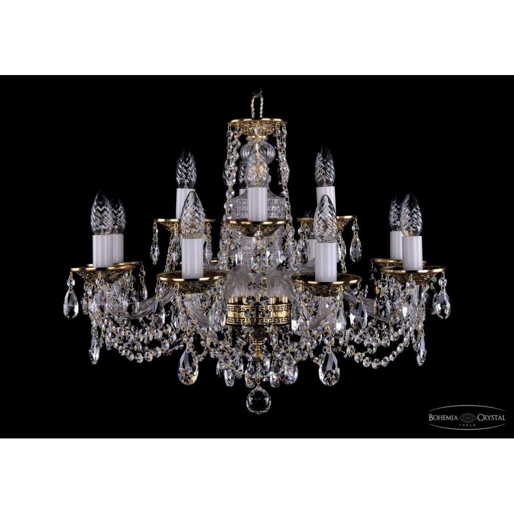 1614.8+4.200  IVELE Bohemia Crystal хрустальная подвесная люстра