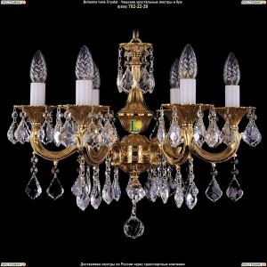 1701/6/A/G/Leafs Подвесная люстра Bohemia Ivele Crystal (Богемия)