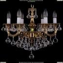 1701/6/B/G/Balls Хрустальная подвесная люстра Bohemia Ivele Crystal (Богемия)