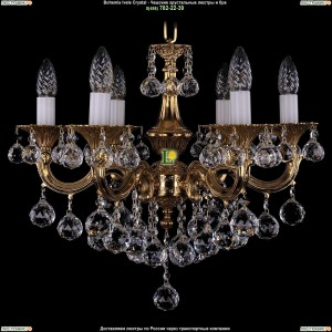 1701/6/B/G/Balls Подвесная люстра Bohemia Ivele Crystal (Богемия)