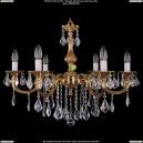 1702/6/B/G/Leafs Хрустальная подвесная люстра Bohemia Ivele Crystal (Богемия)
