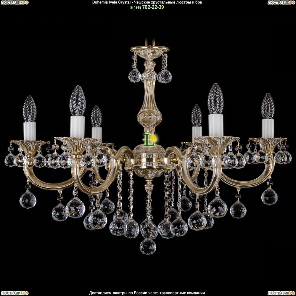 1702/6/B/GW/Balls Подвесная люстра Bohemia Ivele Crystal (Богемия)
