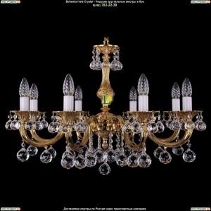 1702/8/A/G/Balls Подвесная люстра Bohemia Ivele Crystal (Богемия)
