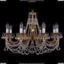 1702/8/C/G/Balls Хрустальная подвесная люстра Bohemia Ivele Crystal (Богемия)