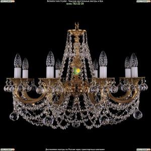 1702/8/C/G/Balls Подвесная люстра Bohemia Ivele Crystal (Богемия)