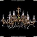 1703/12/A/G/Balls Хрустальная подвесная люстра Bohemia Ivele Crystal (Богемия)