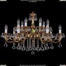 1703/14/B/G/Balls Хрустальная подвесная люстра Bohemia Ivele Crystal (Богемия)