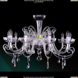 1333/10/380/Ni Хрустальная подвесная люстра Bohemia Ivele Crystal (Богемия)