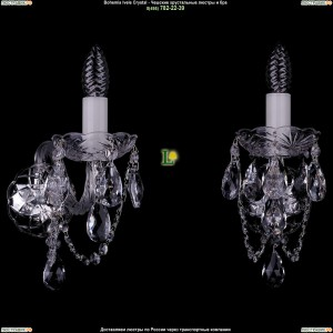 1400/1/Big/Ni Хрустальная бра Bohemia Ivele Crystal (Богемия)