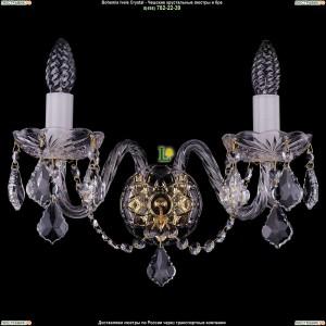 1400/2/Big/G/Leafs Хрустальная бра Bohemia Ivele Crystal (Богемия)