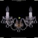 1400/2/Big/Pa/Balls Хрустальное бра Bohemia Ivele Crystal (Богемия)