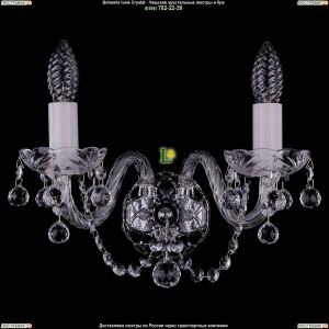 1400/2/Ni/Balls Хрустальная бра Bohemia Ivele Crystal (Богемия)