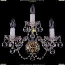1400/3/Big/G/Balls Хрустальное бра Bohemia Ivele Crystal (Богемия)