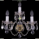 1400/3/Big/G/Leafs Хрустальное бра Bohemia Ivele Crystal (Богемия)