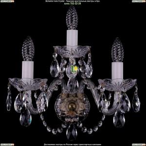 1400/3/Big/Pa Хрустальная бра Bohemia Ivele Crystal (Богемия)