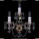 1400/3/G/Leafs Хрустальное бра Bohemia Ivele Crystal (Богемия)