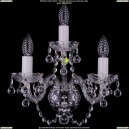1400/3/Ni/Balls Хрустальное бра Bohemia Ivele Crystal (Богемия)