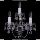 1400/3/Ni/Leafs Хрустальное бра Bohemia Ivele Crystal (Богемия)