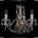 1402/3/141/G/Leafs Хрустальная подвесная люстра Bohemia Ivele Crystal (Богемия)