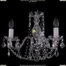 1402/3/141/Ni/Leafs Хрустальная подвесная люстра Bohemia Ivele Crystal (Богемия)