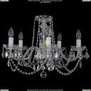 1402/5/195/Ni/Leafs Хрустальная подвесная люстра Bohemia Ivele Crystal (Богемия)