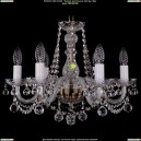 1402/6/160/Pa/Balls Хрустальная подвесная люстра Bohemia Ivele Crystal (Богемия)