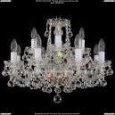 1402/8+4/195/G/Balls Хрустальная подвесная люстра Bohemia Ivele Crystal (Богемия)