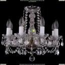 1402/8/141/Pa/Leafs Хрустальная подвесная люстра Bohemia Ivele Crystal (Богемия)