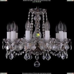 1402/10/141/Pa/Leafs Хрустальная подвесная люстра Bohemia Ivele Crystal (Богемия)