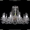 1402/10/240/Pa/Balls Хрустальная подвесная люстра Bohemia Ivele Crystal (Богемия)