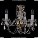 1406/3/141/G/Leafs Хрустальная подвесная люстра Bohemia Ivele Crystal (Богемия)
