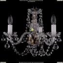 1406/3/141/Pa/Balls Хрустальная подвесная люстра Bohemia Ivele Crystal (Богемия)